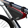 Buy Roswheel 12657 1.5L Outdoor Triangle Cycling Bicycle Front Tube Frame Bag RED