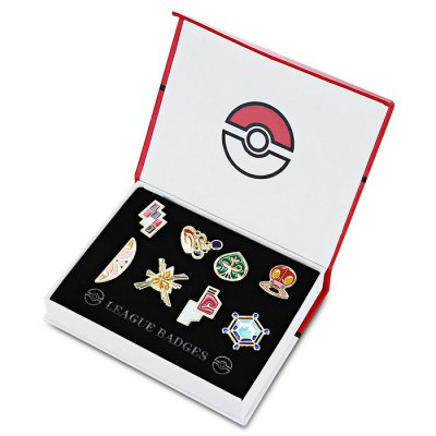 Alloy Badge Movie Product Children Present - 8pcs / set