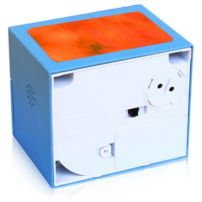 Electronic Money Bank Coin Cash Saving BoxClassic Toys<br>Electronic Money Bank Coin Cash Saving Box<br><br>Appliable Crowd: Unisex<br>Materials: ABS, Electronic Components<br>Nature: Other<br>Package Contents: 1 x Electronic Money Bank<br>Package size: 15.00 x 12.50 x 14.40 cm / 5.91 x 4.92 x 5.67 inches<br>Package weight: 0.4300 kg<br>Product size: 12.00 x 10.00 x 10.00 cm / 4.72 x 3.94 x 3.94 inches<br>Product weight: 0.4000 kg<br>Specification: Europe and America