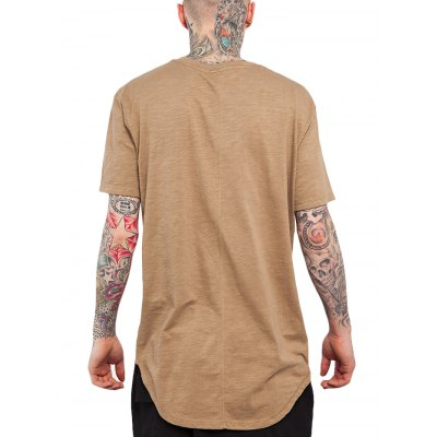 Arc Hem Long T ShirtsMens Short Sleeve Tees<br>Arc Hem Long T Shirts<br><br>Material: Cotton, Spandex<br>Neckline: Round Neck<br>Package Content: 1 x T Shirt<br>Package size: 35.00 x 15.00 x 2.00 cm / 13.78 x 5.91 x 0.79 inches<br>Package weight: 0.2500 kg<br>Pattern Type: Solid<br>Product weight: 0.2000 kg<br>Season: Summer, Spring, Autumn<br>Size: L,M,XL,XXL<br>Sleeve Length: Short Sleeves<br>Style: Fashion