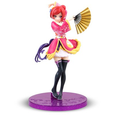 ABS + PVC CollectibleAnimation Figurine - 6.69 inch