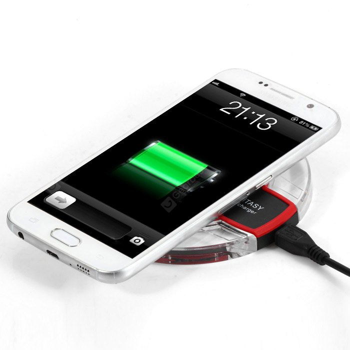 Qi Wireless Charger Transmitter Adapter