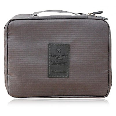 Dixiu Portable Travelling Organizer Bag Cosmetic Storage Bag with Many Pockets