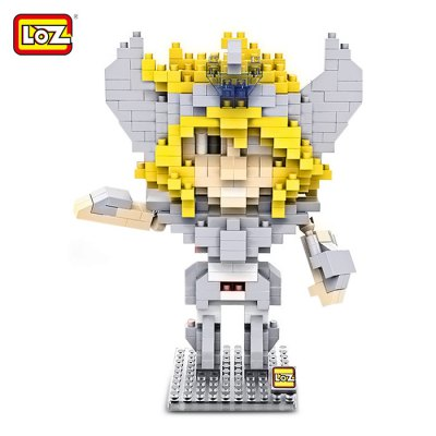 LOZ L - 9482 Cygnus Hyoga Micro Diamond Building Block 390Pcs Educational Toy