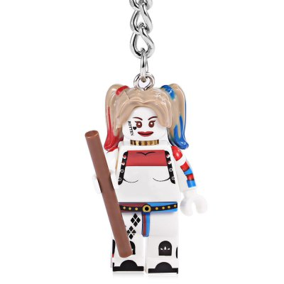 Alloy + Plastic Key Chain Movie ProductKey Chains<br>Alloy + Plastic Key Chain Movie Product<br><br>Design Style: Fashion<br>Gender: Unisex<br>Materials: Alloy, Plastic<br>Package Contents: 1 x Key Chain<br>Package size: 4.00 x 3.00 x 6.00 cm / 1.57 x 1.18 x 2.36 inches<br>Package weight: 0.0230 kg<br>Product size: 3.00 x 2.00 x 10.00 cm / 1.18 x 0.79 x 3.94 inches<br>Stem From: Europe and America<br>Theme: Movie and TV
