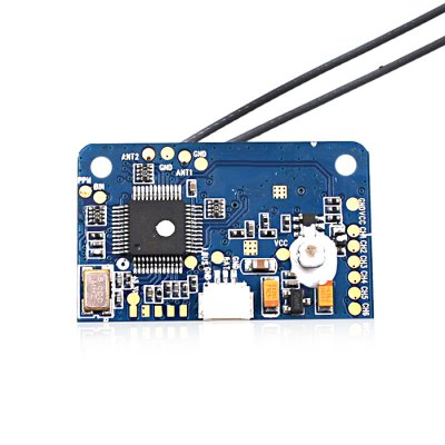 FLYSKY FS - X6B 2.4GHz 6CH PWM iBUS PPM ReceiverRadios &amp; Receiver<br>FLYSKY FS - X6B 2.4GHz 6CH PWM iBUS PPM Receiver<br><br>Brand: Flysky<br>Package Contents: 1 x Receiver, 4 x Cable<br>Package size (L x W x H): 5.00 x 3.00 x 2.00 cm / 1.97 x 1.18 x 0.79 inches<br>Package weight: 0.0400 kg<br>Product size (L x W x H): 3.60 x 2.20 x 0.75 cm / 1.42 x 0.87 x 0.3 inches<br>Protocol: Flysky<br>Type: Receiver