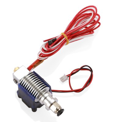 E3D - V6 Long Distance 0.4mm 3D Printer Extruder3D Printer Parts<br>E3D - V6 Long Distance 0.4mm 3D Printer Extruder<br><br>Material: Metal + Plastic<br>Model: E3D - V6<br>Package Contents: 1 x E3D - V6 Long Distance 3D Printer Extruder ( 1m Line ), 1 x PTFE Tube ( 1m Line )<br>Package size: 16.00 x 15.00 x 6.00 cm / 6.3 x 5.91 x 2.36 inches<br>Package weight: 0.1200 kg<br>Product weight: 0.0960 kg<br>Suitable for: Heating / Cooling, Nozzle<br>Type: Extruder Parts