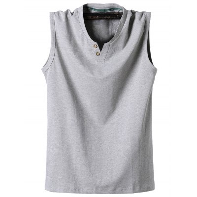 Loose Fit Sleeveless T Shirt