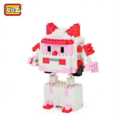 LOZ 8213 Cartoon Building Block Educational Decoration Toy for Spatial Thinking - 357Pcs