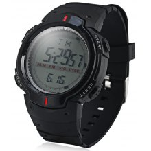 9040 LED Military Sports Watch Light Stopwatch Month Day Week