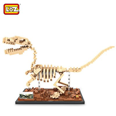 LOZ 9026 ABS 620Pcs Raptorsaurus Building Block Toy for Enhancing Social Cooperation Ability