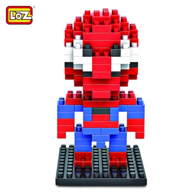 LOZ 130Pcs M - 9154 Spider-man Building Block