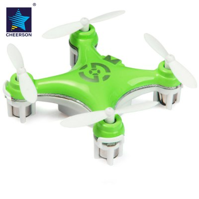 Cheerson CX  -  10 Portable 2.4G 4CH 6 Axis Gyro RC Quadcopter with Night Light Wonderful for  Christmas Eve