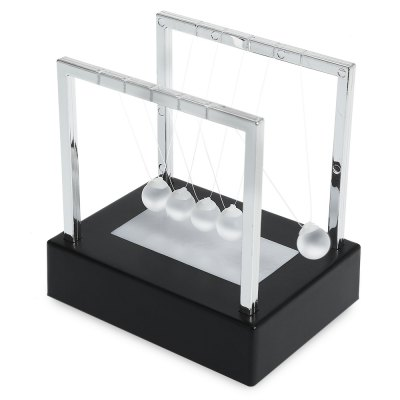 2cm Luminous Ground Glass Pendulum Newton Cradle Balance BallOffice Toys<br>2cm Luminous Ground Glass Pendulum Newton Cradle Balance Ball<br><br>Appliable Crowd: Unisex<br>Materials: Glass, Metal, Other, Plastic<br>Nature: Ball<br>Package Contents: 1 x Newton Cradle<br>Package size: 15.00 x 15.00 x 10.00 cm / 5.91 x 5.91 x 3.94 inches<br>Package weight: 0.2100 kg<br>Product size: 12.00 x 12.00 x 9.00 cm / 4.72 x 4.72 x 3.54 inches<br>Product weight: 0.2000 kg