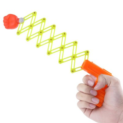 1PC Retractable Elastic Gun Shape Shooter Fist Tricky Toy Gift for Child KidOutdoor Fun &amp; Sports<br>1PC Retractable Elastic Gun Shape Shooter Fist Tricky Toy Gift for Child Kid<br><br>Materials: Plastic<br>Theme: Trick<br>Features: Model<br>Series: Entertainment<br>Package weight: 0.0400 kg<br>Product size: 6.00 x 8.00 x 2.00 cm / 2.36 x 3.15 x 0.79 inches<br>Package size: 10.00 x 10.00 x 5.00 cm / 3.94 x 3.94 x 1.97 inches<br>Package Contents: 1 x Fist Gun Shape Shooter