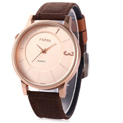 FEIFAN 62086G Japan Movement Unisex Quartz Watch