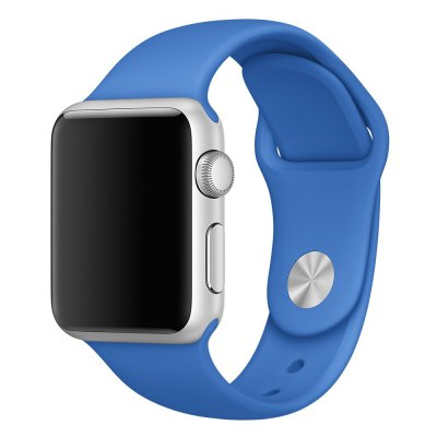 Rubber Strap Watch Band for Apple Watch iWatch 38mm