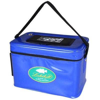 Big Size Zipper Shrimp Box with Small Opening Air Hole