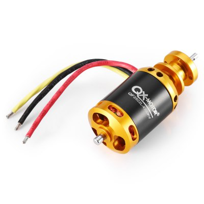 QX - MOTOR QF2822L 2222 4300KV Brushless MotorMotor<br>QX - MOTOR QF2822L 2222 4300KV Brushless Motor<br><br>Brand: QX-MOTOR<br>Compatible Propeller Sizes: 64mm ( 5-blade ducted fan )<br>Configuration: 9N 6P<br>Internal Resistance: 0.033 ohm<br>KV: 4300<br>Max. Continuous Current (A): 55A<br>Max. Continuous Power (W): 850W<br>Maximum Thrust: 1600g<br>Model: QF2822L 2222<br>Motor Dimensions: 28 x 61mm ( diameter x height, not including shaft )<br>Motor Type: Brushless Motor<br>No. of Cells: 3 - 4S LiPo<br>Package Contents: 1 x Motor, 1 x Pack of Accessories<br>Package size (L x W x H): 9.00 x 4.20 x 4.20 cm / 3.54 x 1.65 x 1.65 inches<br>Package weight: 0.1350 kg<br>Product size (L x W x H): 2.80 x 2.80 x 7.90 cm / 1.1 x 1.1 x 3.11 inches<br>Product weight: 0.0990 kg<br>Shaft Diameter: 4mm<br>Stator Diameter: 22mm<br>Stator Length: 22mm<br>Type: Motor