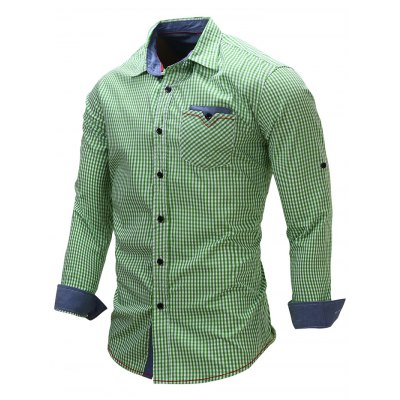 FREDD MARSHALL FM106 Male Casual Check Long Sleeve ShirtMens Shirts<br>FREDD MARSHALL FM106 Male Casual Check Long Sleeve Shirt<br><br>Brand: FREDD MARSHALL<br>Material: Cotton<br>Package Contents: 1 x FREDD MARSHALL FM106 Male Shirt<br>Package size: 28.00 x 32.00 x 2.00 cm / 11.02 x 12.6 x 0.79 inches<br>Package weight: 0.3300 kg<br>Product weight: 0.2800 kg<br>Size: L,M,XL,XXL