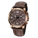 OCHSTIN 6047G Men Quartz Watch with Luminous Pointers