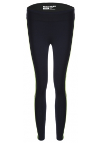 Female Closing-fitting Yoga Pants with Reflective Stripes