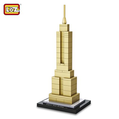 LOZ Empire State Building ABS Assembly Model Toy