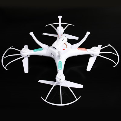 Syma X5SC New Version Syma X5SC  -  1 Falcon HD Camera 4 Channel 2.4G RC Quadcopter 6 Axis 3D Flip Fly UFORC Quadcopters<br>Syma X5SC New Version Syma X5SC  -  1 Falcon HD Camera 4 Channel 2.4G RC Quadcopter 6 Axis 3D Flip Fly UFO<br><br>Brand: Syma<br>Built-in Gyro: Yes<br>Channel: 4-Channels<br>Functions: With light, Up/down, Turn left/right, Sideward flight, Forward/backward, Camera, 3D rollover<br>Kit Types: RTF<br>Level: Intermediate Level<br>Material: Plastic, Electronic Components<br>Mode: Mode 2 (Left Hand Throttle)<br>Model Power: Built-in rechargeable battery<br>Motor Type: Brushed Motor<br>Night Flight: Yes<br>Package Contents: 1 x Quadcopter, 1 x Remote Control, 1 x Camera, 1 x Card Reader, 1 x 4GB Storage Card, 1 x USB Charger, 2 x Blade, 4 x Undercart, 4 x Protector<br>Package size (L x W x H): 44.00 x 24.50 x 11.00 cm / 17.32 x 9.65 x 4.33 inches<br>Package weight: 0.9340 kg<br>Radio Mode: Mode 2 (Left-hand Throttle)<br>Remote Control: 2.4GHz Wireless Remote Control<br>Transmitter Power: 4 x 1.5V AA battery(not included)