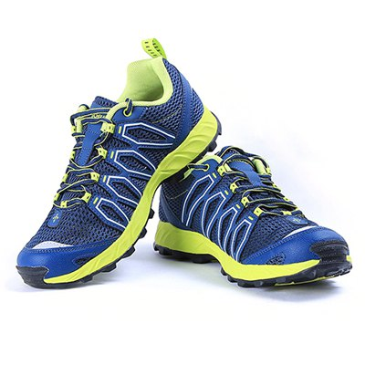 Toread Outdoor Mesh Fabric Trekking Trail Running Shoes for Men
