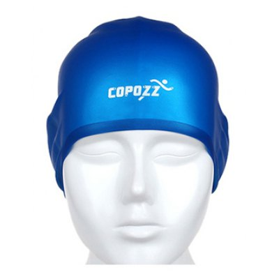 COPOZZ Professional 3D Waterproof Silicone Swimming Cap