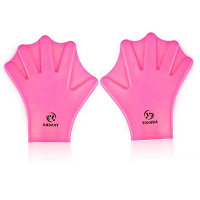 Free Size Swimming and Diving Webbed Gloves