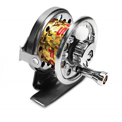 Exquisite Spool Spinning Reel Fishing Reel Fishing Accessories (Silver)
