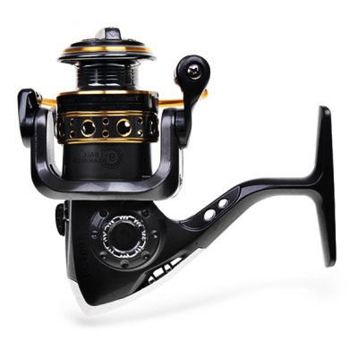High Quality Yoshikawa PC500 Spinning Fishing Reel (Gray with Yellow)