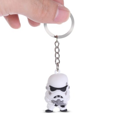 Black Soldier Key Ring Pendant Movie Product