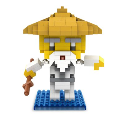 PIECE FUN Figure Style ABS Cartoon Building BrickBlock Toys<br>PIECE FUN Figure Style ABS Cartoon Building Brick<br><br>Brand: PIECE FUN<br>Completeness: Semi-finished Product<br>Gender: Unisex<br>Materials: ABS<br>Package Contents: 1 x Module Set, 1 x Operation Instruction<br>Package size: 8.00 x 5.00 x 11.50 cm / 3.15 x 1.97 x 4.53 inches<br>Package weight: 0.0600 kg<br>Product size: 7.30 x 4.00 x 7.70 cm / 2.87 x 1.57 x 3.03 inches<br>Product weight: 0.0400 kg<br>Stem From: Europe and America<br>Theme: Movie and TV
