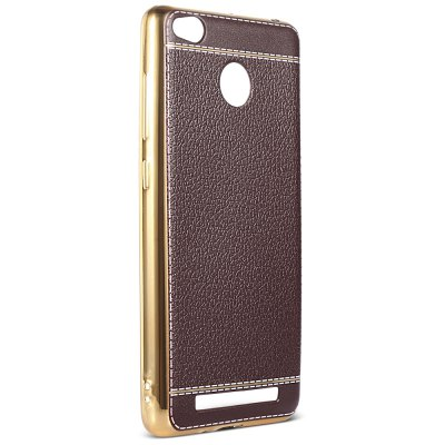 Luanke Phone ProtectorCases &amp; Leather<br>Luanke Phone Protector<br><br>Brand: Luanke<br>Color: Black,Brown,Coffee<br>Compatible Model: Redmi 3 / 3S / 3 Pro / 3X<br>Features: Anti-knock, Back Cover<br>Mainly Compatible with: Xiaomi<br>Material: TPU<br>Package Contents: 1 x Phone Case<br>Package size (L x W x H): 21.00 x 13.00 x 2.00 cm / 8.27 x 5.12 x 0.79 inches<br>Package weight: 0.0410 kg<br>Product Size(L x W x H): 13.90 x 7.00 x 1.00 cm / 5.47 x 2.76 x 0.39 inches<br>Product weight: 0.0170 kg<br>Style: Pattern, Cool, Modern