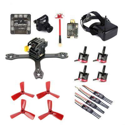 GB - 155 Carbon Fiber DIY Frame Kit with SP Racing F3 ACRO 6DOF FC
