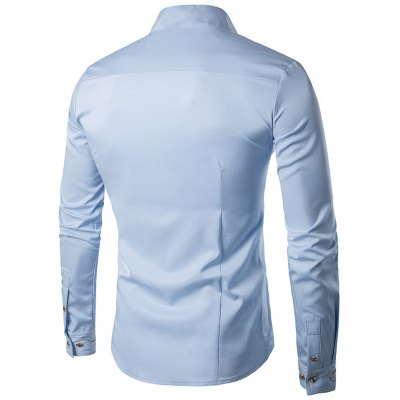 Male Cotton Slant Cutting Hem Casual Long Sleeve ShirtMens Shirts<br>Male Cotton Slant Cutting Hem Casual Long Sleeve Shirt<br><br>Material: Cotton<br>Package Contents: 1 x Male Shirt<br>Package size: 40.00 x 30.00 x 2.00 cm / 15.75 x 11.81 x 0.79 inches<br>Package weight: 0.4200 kg<br>Product weight: 0.3500 kg<br>Size: L,M,S,XL,XXL