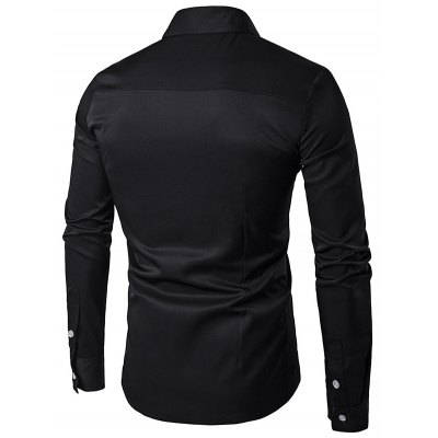 Male Cotton Tops Casual Long Sleeve Shirt with Hid ButtonMens Shirts<br>Male Cotton Tops Casual Long Sleeve Shirt with Hid Button<br><br>Material: Cotton, Polyester<br>Package Contents: 1 x Male Shirt<br>Package size: 40.00 x 30.00 x 2.00 cm / 15.75 x 11.81 x 0.79 inches<br>Package weight: 0.4200 kg<br>Product weight: 0.3500 kg<br>Size: L,M,S,XL,XXL