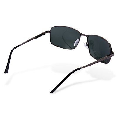 NANKA 8796 Polarized SunglassesStylish Sunglasses<br>NANKA 8796 Polarized Sunglasses<br><br>Brand: NANKA<br>Ear-stems Length: 14cm<br>Features: Anti-UV, Polarized<br>Frame Color: Gun Metal<br>Frame Metarial: Alloy<br>Gender: Men<br>Lens height: 4.5cm<br>Lens material: Resin, TAC<br>Lens width: 6.5cm<br>Model Number: 8796<br>Nose bridge width: 1.8cm<br>Package Contents: 1 x NANKA 8796 Sunglasses, 1 x Box<br>Package Dimension: 17.00 x 9.00 x 8.00 cm / 6.69 x 3.54 x 3.15 inches<br>Package weight: 0.124 kg<br>Product Dimension: 15.00 x 14.00 x 4.50 cm / 5.91 x 5.51 x 1.77 inches<br>Product weight: 0.027 kg<br>Whole Length: 15cm