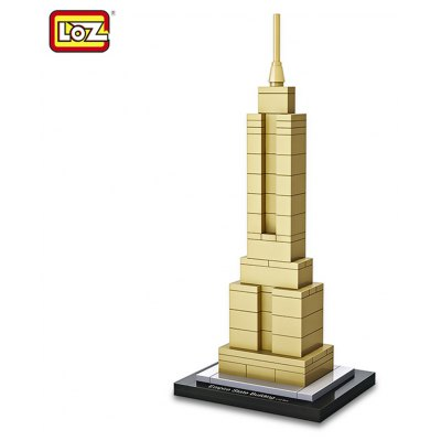 LOZ Empire State Building World Assembly Toy