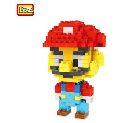 LOZ 160Pcs M - 9338 Super Mario Brothers Building Block Educational Boy Girl Gift for Spatial Thinking