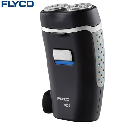 FLYCO FS829 Rotatable Dual Head Electric Shaver
