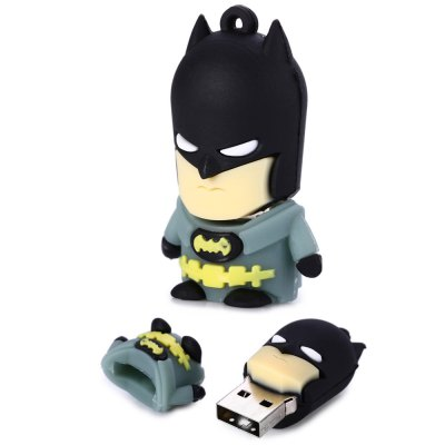 16GB Cintura Gialla Batman USB 2.0 Stick / Flash Memory Drive