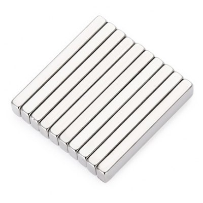10Pcs 30 x 5 x 3mm N52 Strong NdFeB Magnet