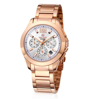 MEGIR 5006 Male Japan Quartz WatchMens Watches<br>MEGIR 5006 Male Japan Quartz Watch<br><br>Available Color: Rose Gold,Silver<br>Band material: Stainless Steel<br>Brand: MEGIR<br>Case material: Alloy<br>Clasp type: Folding clasp with safety<br>Display type: Analog<br>Movement type: Quartz watch<br>Package Contents: 1 x MEGIR 5006 Watch<br>Package size (L x W x H): 24.50 x 5.30 x 2.10 cm / 9.65 x 2.09 x 0.83 inches<br>Package weight: 0.1560 kg<br>Product size (L x W x H): 23.50 x 4.30 x 1.10 cm / 9.25 x 1.69 x 0.43 inches<br>Product weight: 0.1060 kg<br>Shape of the dial: Round<br>Special features: Date, Moving small three stitches<br>The band width: 2.0 cm / 0.79 inches<br>The dial diameter: 4.3 cm / 1.69 inches<br>The dial thickness: 1.1 cm / 0.43 inches<br>Watch style: Business<br>Watches categories: Male table<br>Water resistance : 30 meters