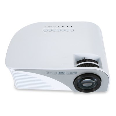 RD - 805B LCD Projector 1200LmProjectors<br>RD - 805B LCD Projector 1200Lm<br><br>3D: No<br>Aspect ratio: 16:9 / 4:3<br>Audio Formats: AAC,  WMA,  etc., MP3<br>Bluetooth: Unsupport<br>Brightness: 1200Lm<br>Built-in Speaker: Yes<br>Contrast Ratio: 1500:1<br>Display type: LCD<br>DVB-T Supported: No<br>External Subtitle Supported: No<br>Image Scale: 16:10,16:9<br>Image Size: 35 - 120 inch<br>Lamp: LED<br>Lamp Life: 50,000 hours<br>Lamp Power: 44W<br>Model: RD - 805B<br>Native Resolution: 800 x 480<br>Package Contents: 1 x RD - 805B LCD Projector, 1 x AV Cable, 1 x Remote Control, 1 x Power Cable, 1 x Lens Cap, 1 x English Manual<br>Package size (L x W x H): 53.00 x 45.50 x 46.00 cm / 20.87 x 17.91 x 18.11 inches<br>Package weight: 1.5630 kg<br>Picture Formats: JPG,  etc.,  PNG,  GIF,  BMP<br>Power Supply: 100-240V<br>Product size (L x W x H): 22.50 x 15.20 x 9.00 cm / 8.86 x 5.98 x 3.54 inches<br>Product weight: 1.1660 kg<br>Projection Distance: 1.2 - 3.8m<br>Resolution Support: 1080P<br>Throw Ration: 1.59:1 - 1.72:1<br>Tripod Height: No<br>Video Formats: MP4,  etc.,  AVI, MKV
