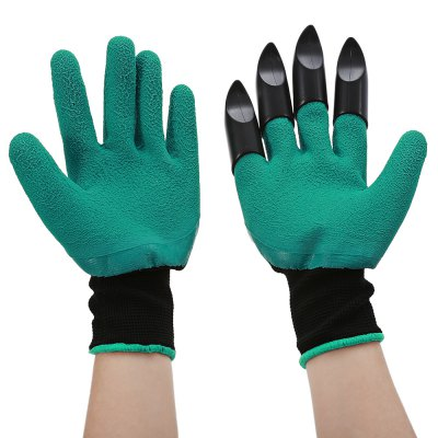 Paired Garden Safe Digging Gloves