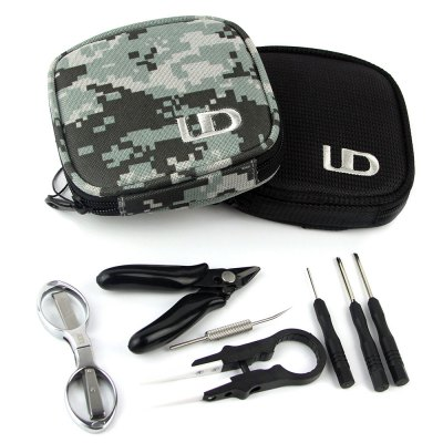UD Coil Mate Mini Tool Kit for E CigaretteVapor Tools<br>UD Coil Mate Mini Tool Kit for E Cigarette<br><br>Accessories type: DIY Tool Kit<br>Brand: Youde<br>Material: Fiber, Polyester<br>Package Contents: 1 x Mini Diagonal Plier, 1 x Scissor, 1 x Cotton Hook, 1 x Functional Ceramic Tweezer, 1 x Screwdriver, 1 x Flat Bladed Screwdriver, 1 x Allen Key<br>Package size (L x W x H): 13.00 x 13.00 x 4.00 cm / 5.12 x 5.12 x 1.57 inches<br>Package weight: 0.2050 kg<br>Product size (L x W x H): 12.00 x 12.00 x 3.00 cm / 4.72 x 4.72 x 1.18 inches<br>Product weight: 0.1750 kg<br>Type: Tools