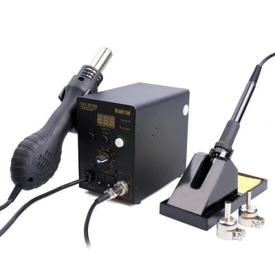 Bakon SBK8586 LED Hot Air Rework Station + Soldering Iron